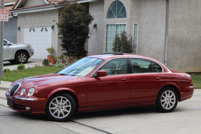 2002 Jaguar S-TYPE SEDAN ONLY 59K  ORIGINAL MLS LEATHER SUNROOF SERVICE RECORDS! Woodland Hills, CA 3