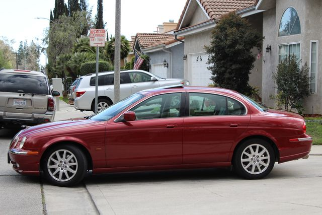 2002 Jaguar S-TYPE SEDAN ONLY 59K  ORIGINAL MLS LEATHER SUNROOF SERVICE RECORDS! Woodland Hills, CA 4