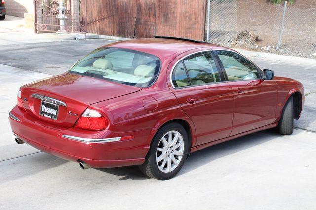 2002 Jaguar S-TYPE SEDAN ONLY 59K  ORIGINAL MLS LEATHER SUNROOF SERVICE RECORDS! Woodland Hills, CA 7