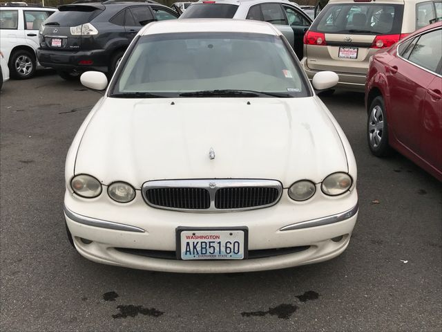 2002 Jaguar X-TYPE 25L AWD White Onyx 2002 Jaguar X-TYPE 25L AWD AWD 5-Speed Automatic with Over