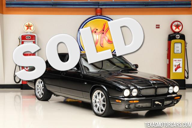 2002 Jaguar XJ XJR 100 This 2002 Jaguar XJR 100 is in great shape 100 742 miles The XJR has a 40