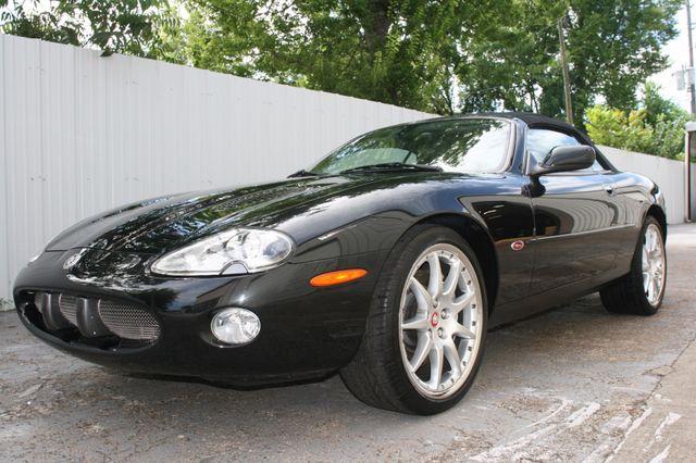 2002 Jaguar XKR Convertible Houston, Texas 1