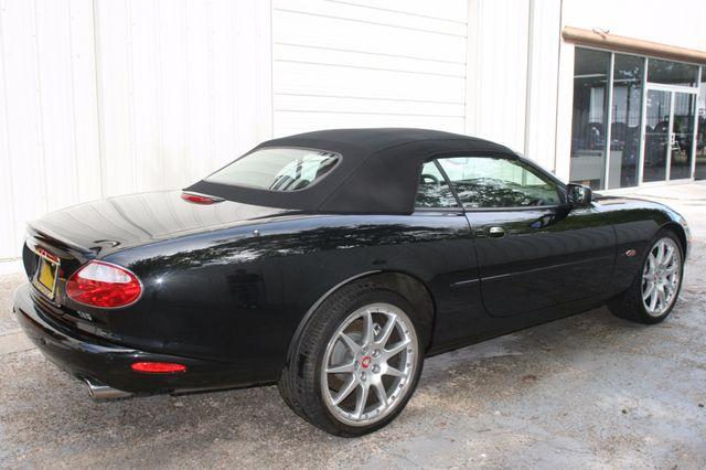 2002 Jaguar XKR Convertible Houston, Texas 3
