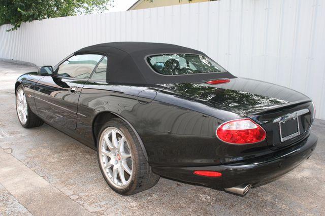 2002 Jaguar XKR Convertible Houston, Texas 5