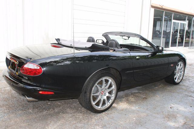 2002 Jaguar XKR Convertible Houston, Texas 8