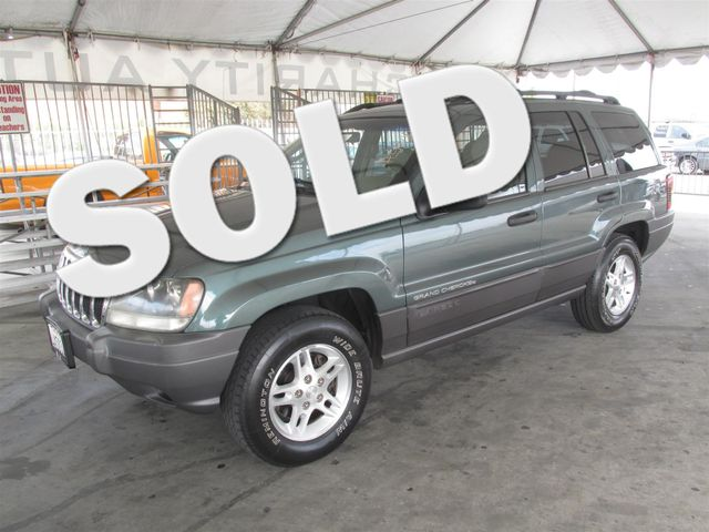 2002 Jeep Grand Cherokee Laredo Please call or e-mail to check availability All of our vehicles