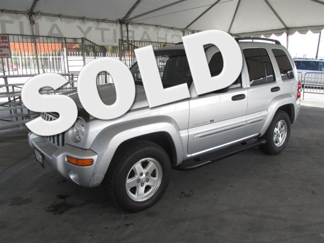 2002 Jeep Liberty Limited Please call or e-mail to check availability All of our vehicles are a