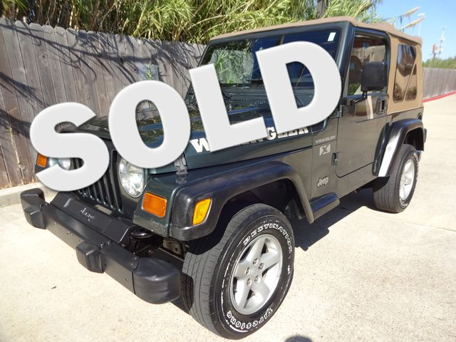 2002 Jeep Wrangler X Corpus Christi, Texas 0