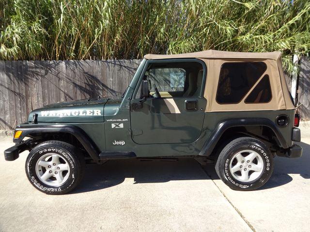 2002 Jeep Wrangler X Corpus Christi, Texas 4