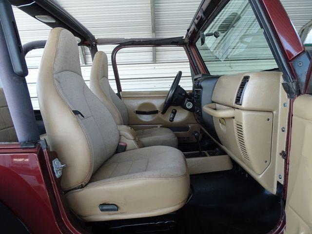 2002 Jeep Wrangler X Corpus Christi, Texas 18