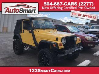 2002 Jeep Wrangler in Harvey, LA