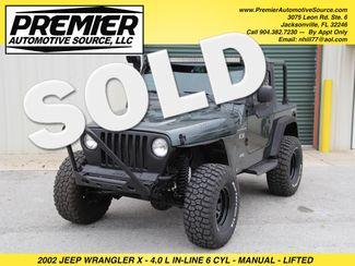 2002 Jeep Wrangler X Jacksonville , FL