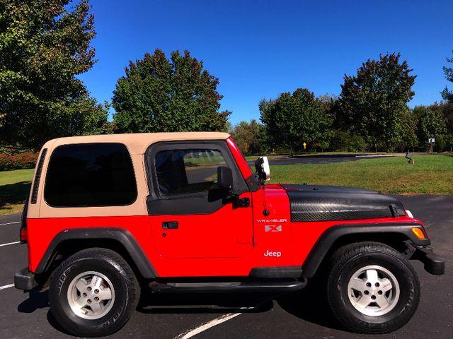 2002 Jeep Wrangler X Leesburg, Virginia 4