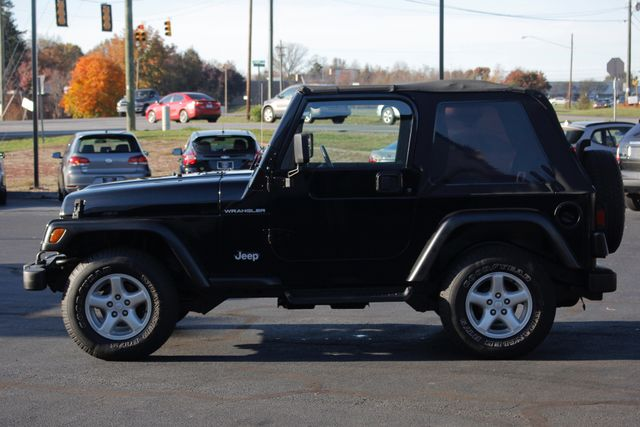 2002 Jeep Wrangler Sport 4X4 -TIRE & WHEEL GROUP! Mooresville , NC 14