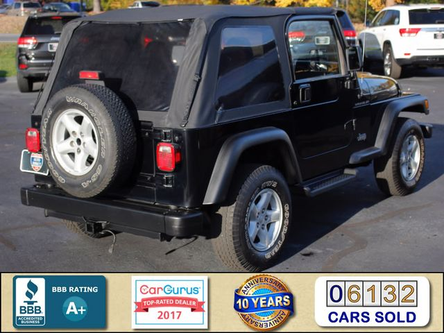 2002 Jeep Wrangler Sport 4X4 -TIRE & WHEEL GROUP! Mooresville , NC 2