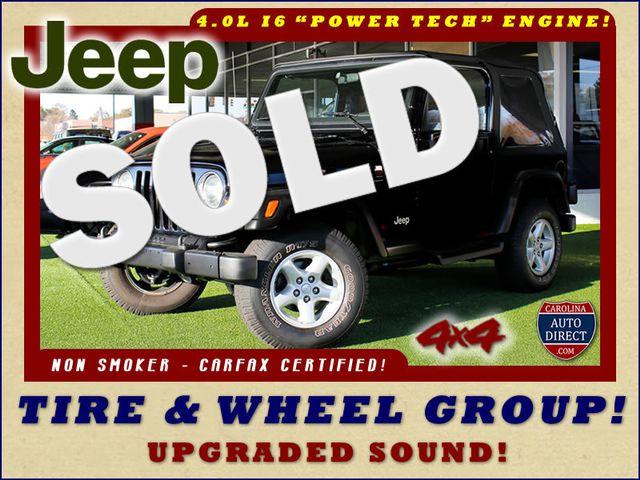 2002 Jeep Wrangler Sport 4X4 -TIRE & WHEEL GROUP! Mooresville , NC 0