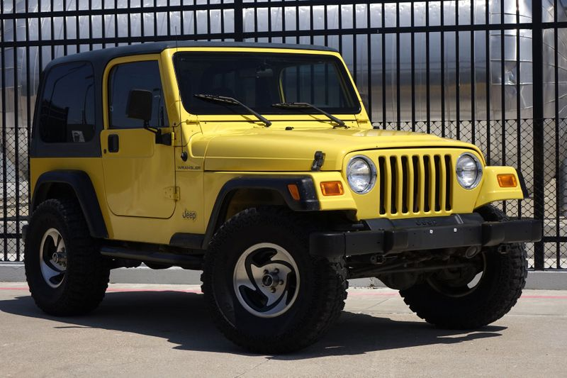 2002 Jeep Wrangler SE* Low Miles* Hard Top* Leather*** | Plano, TX | Carrick's Autos in Plano TX