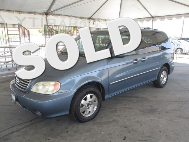 2002 Kia Sedona EX This particular Vehicle comes with 3rd Row Seat Please call or e-mail to check