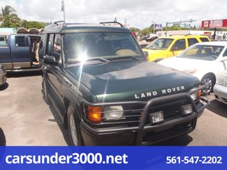 2002 Land Rover Discovery Series II SD Lake Worth , Florida