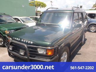 2002 Land Rover Discovery Series II SD Lake Worth , Florida 1