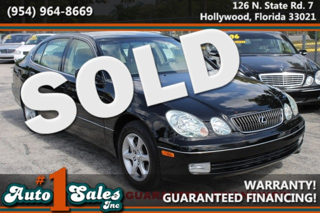 2002 Lexus GS 300  WARRANTY CARFAX CERTIFIED AUTOCHECK CERTIFIED 1 OWNER FLORIDA VEHICLE