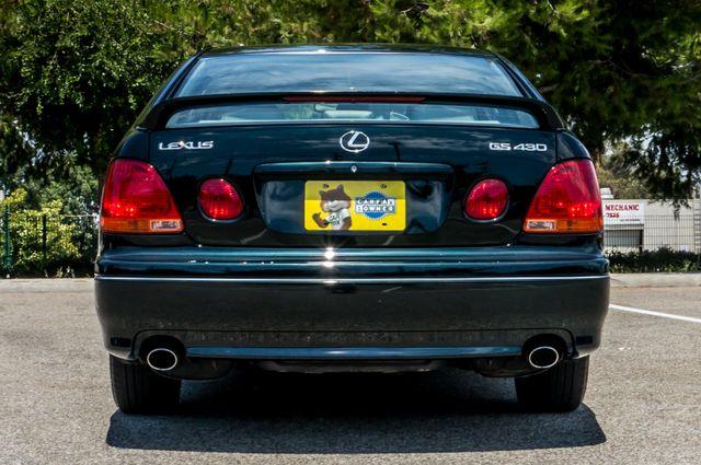 2002 Lexus GS 430 - NAVI - PREMIUM - MARK LEVINSON SOUND Reseda, CA 7