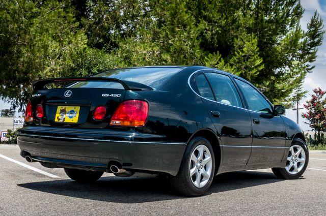 2002 Lexus GS 430 - NAVI - PREMIUM - MARK LEVINSON SOUND Reseda, CA 8