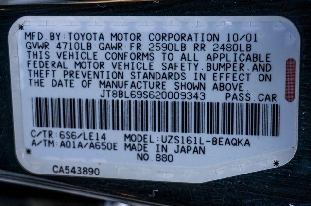 2002 Lexus GS 430 - NAVI - PREMIUM - MARK LEVINSON SOUND Reseda, CA 41