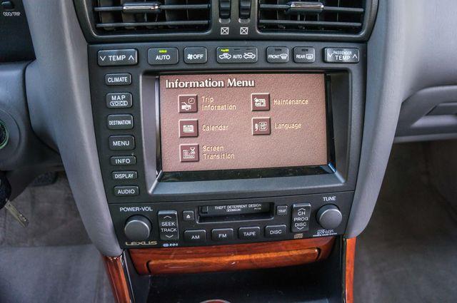 2002 Lexus GS 430 - NAVI - PREMIUM - MARK LEVINSON SOUND Reseda, CA 24