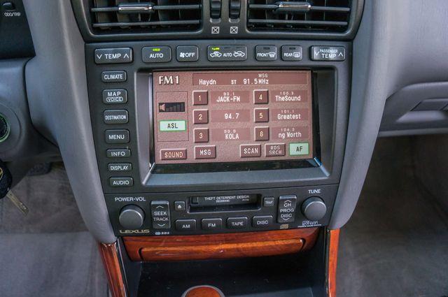 2002 Lexus GS 430 - NAVI - PREMIUM - MARK LEVINSON SOUND Reseda, CA 25