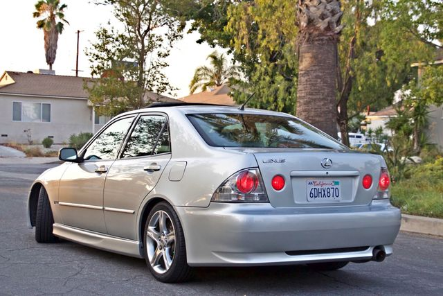 2002 Lexus IS 300 SPORT AUTOMATIC XENON MOONROOF HEATED SEATS ALTEZZ PKG XLNT CONDITION Woodland Hills, CA 7