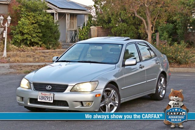2002 Lexus IS 300 SPORT AUTOMATIC XENON MOONROOF NAVIGATION SERVICE RECORDS NEW TIRES! Woodland Hills, CA 0