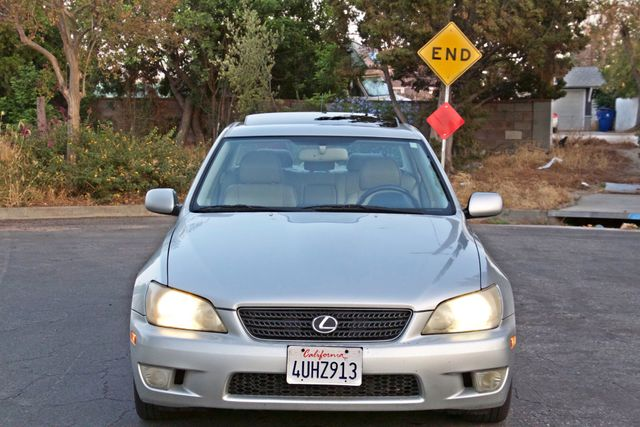 2002 Lexus IS 300 SPORT AUTOMATIC XENON MOONROOF NAVIGATION SERVICE RECORDS NEW TIRES! Woodland Hills, CA 8