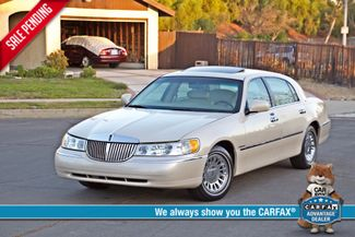 2002 Lincoln TOWN CAR CARTIER ONLY 78K MLS AUTOMATIC NEW TIRES 1-OWNER Woodland Hills, CA