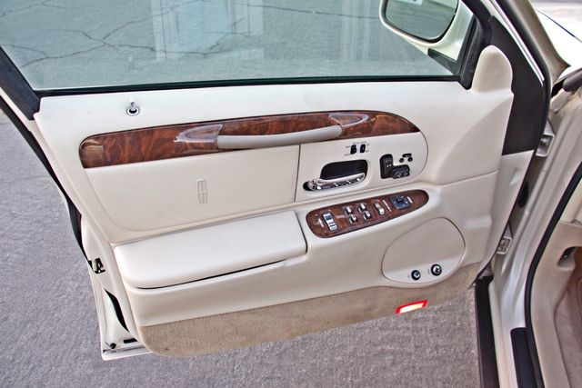 2002 Lincoln TOWN CAR CARTIER ONLY 78K MLS AUTOMATIC NEW TIRES 1-OWNER Woodland Hills, CA 14