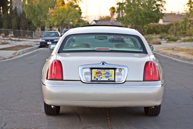 2002 Lincoln TOWN CAR CARTIER ONLY 78K MLS AUTOMATIC NEW TIRES 1-OWNER Woodland Hills, CA 5