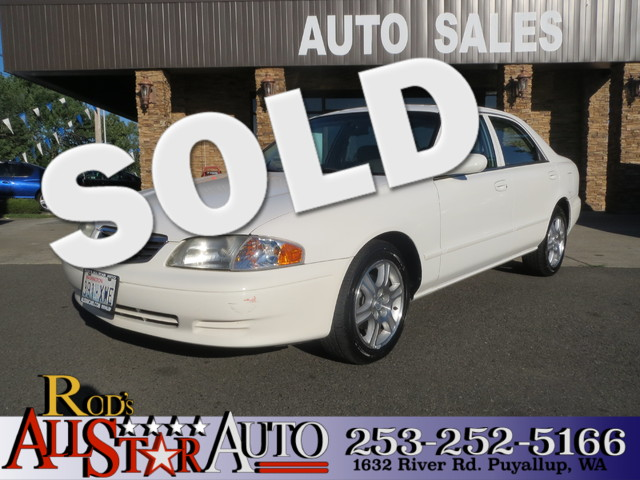 2002 Mazda 626 LX The CARFAX Buy Back Guarantee that comes with this vehicle means that you can bu