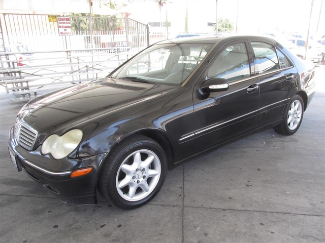 2002 Mercedes C240 This particular Vehicles true mileage is unknown TMU Please call or e-mail