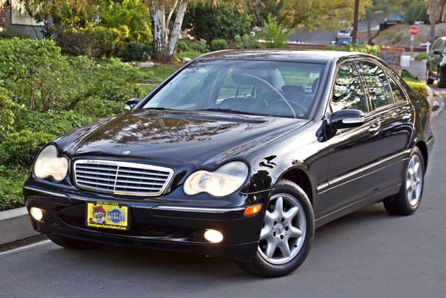 2002 Mercedes-Benz C240 SEDAN ONLY 45K ORIGINAL MLS AUTOMATIC ALLOY WHLS 1-OWNER Woodland Hills, CA 1
