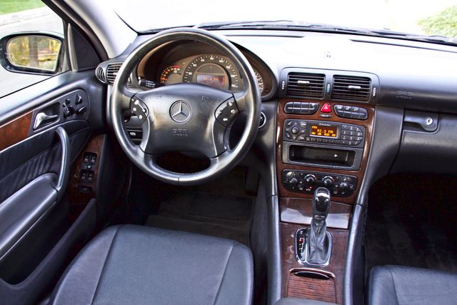 2002 Mercedes-Benz C240 SEDAN ONLY 45K ORIGINAL MLS AUTOMATIC ALLOY WHLS 1-OWNER Woodland Hills, CA 22