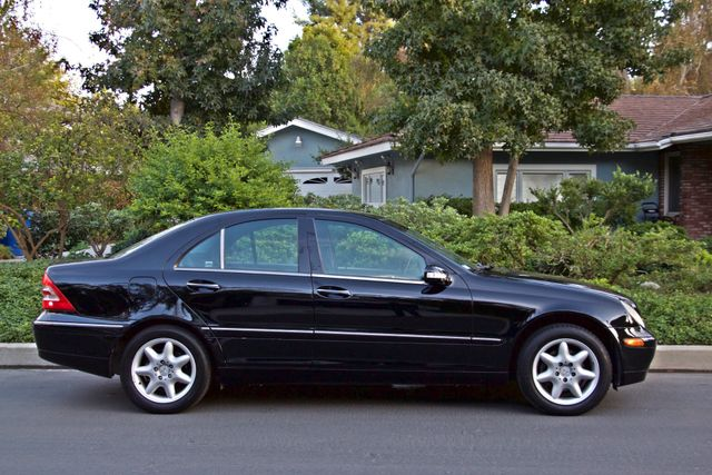 2002 Mercedes-Benz C240 SEDAN ONLY 45K ORIGINAL MLS AUTOMATIC ALLOY WHLS 1-OWNER Woodland Hills, CA 8