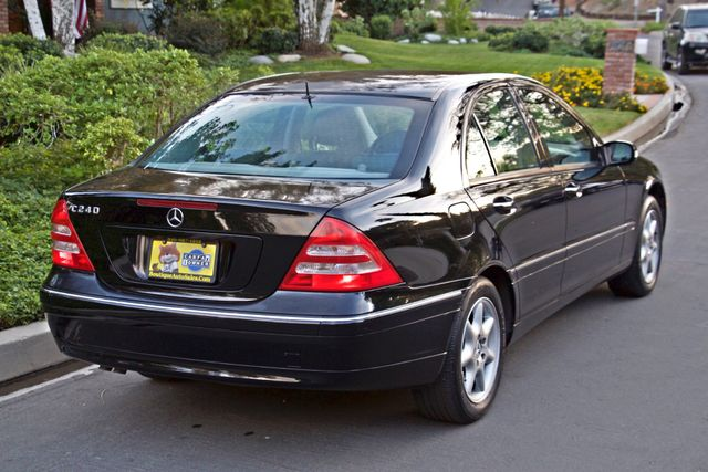 2002 Mercedes-Benz C240 SEDAN ONLY 45K ORIGINAL MLS AUTOMATIC ALLOY WHLS 1-OWNER Woodland Hills, CA 7