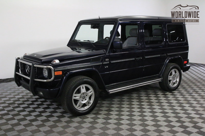 2002 Mercedes-Benz G500 FULLY LOADED LEATHER MOON ROOF