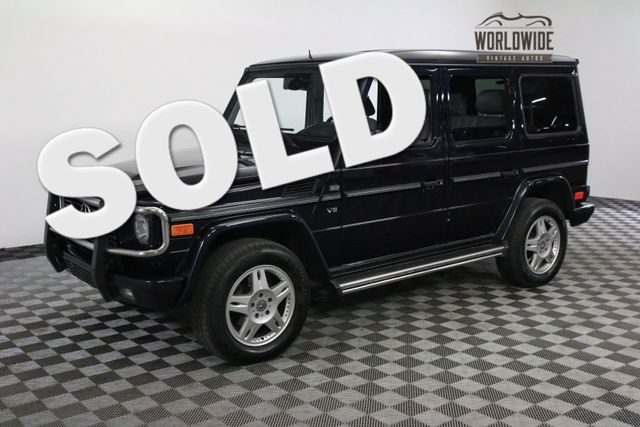 2002 Mercedes-Benz G500 FULLY LOADED LEATHER MOON ROOF | Denver, Colorado | Worldwide Vintage Autos