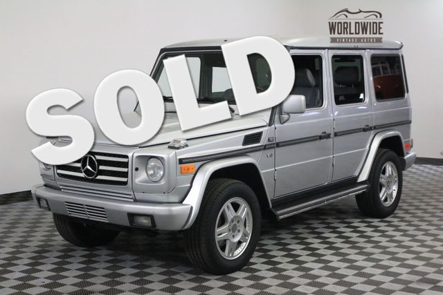 2002 Mercedes-Benz G500  LOW MILES. MANY UPGRADES. G500 G55 G63 | Denver, Colorado | Worldwide Vintage Autos