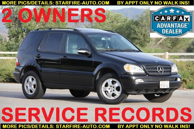 2002 Mercedes-Benz ML320 Santa Clarita, CA 0