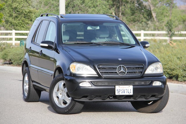 2002 Mercedes-Benz ML320 Santa Clarita, CA 3