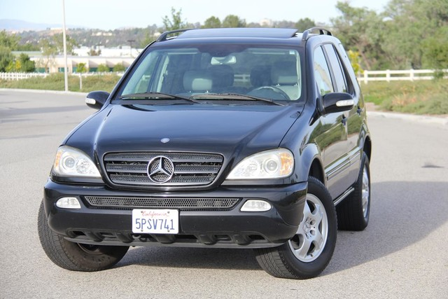 2002 Mercedes-Benz ML320 Santa Clarita, CA 4
