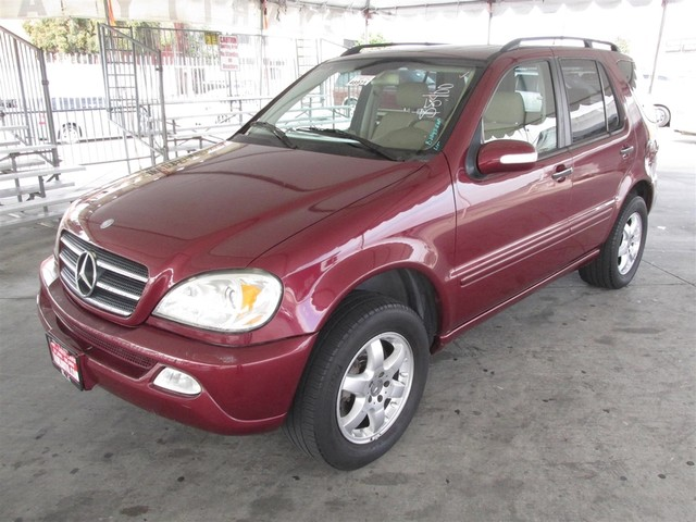 2002 Mercedes ML500 Please call or e-mail to check availability All of our vehicles are availab