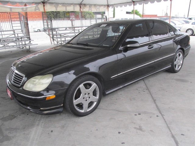 2002 Mercedes S500 50L Please call or e-mail to check availability All of our vehicles are ava